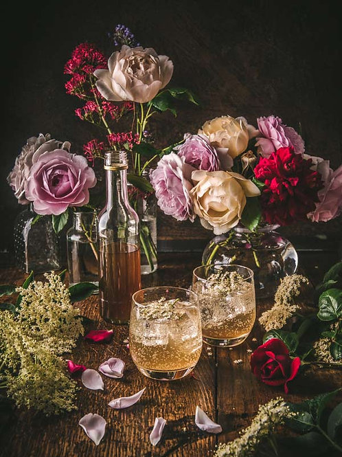 Roses & elderflower