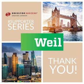 Supporter Series: Thank you Weil Gotshal