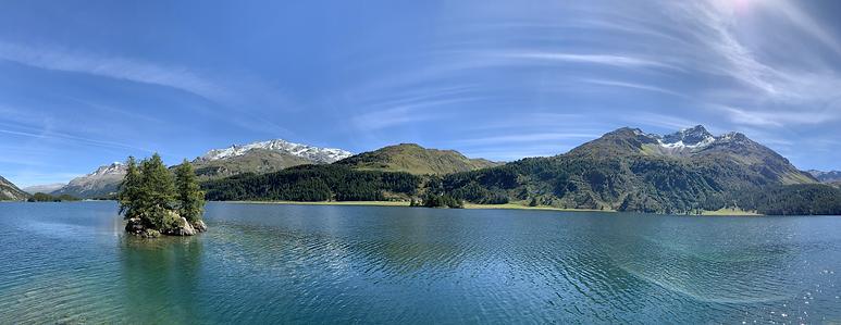 Lac de Sils depuis Plaun da Leg