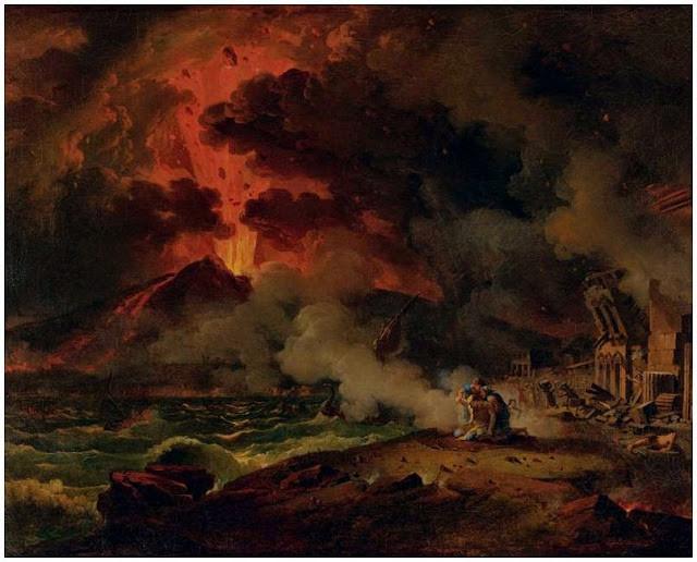 La destruction de Pompéi : Pierre-Henri de Valenciennes