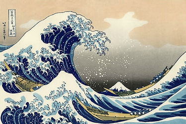 Jean-Marc Berger - Le territoire de la sérénité - La vague de Hiroshije