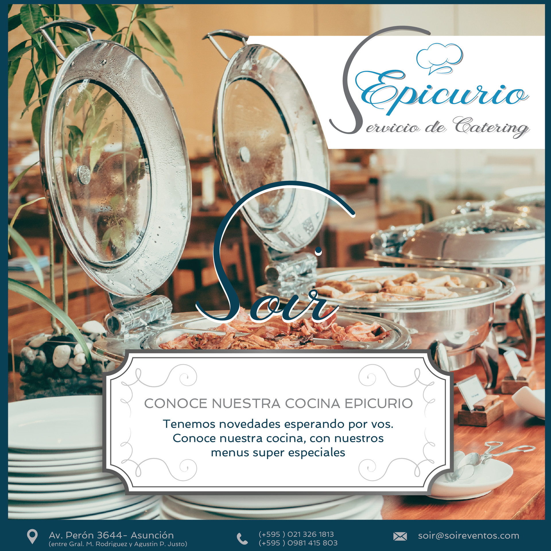 Epicurio- catering - soir-eventos