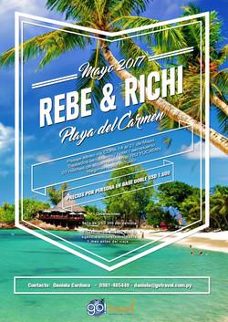 Boda Rebe y Richi
