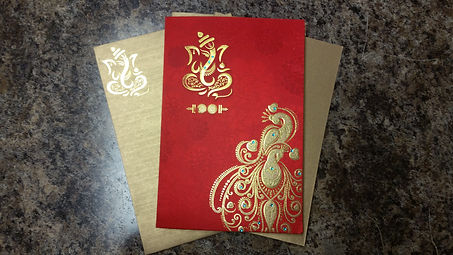 Desi Wedding Invitations