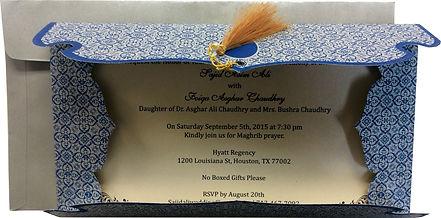Desi Wedding Invitations