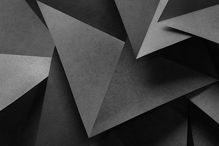 Macro image of paper folded in geometric
