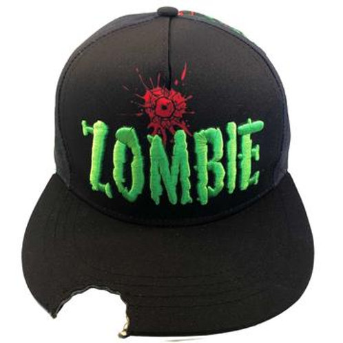 ZOMBIE BITE SUBLIMATION BASEBALL HAT