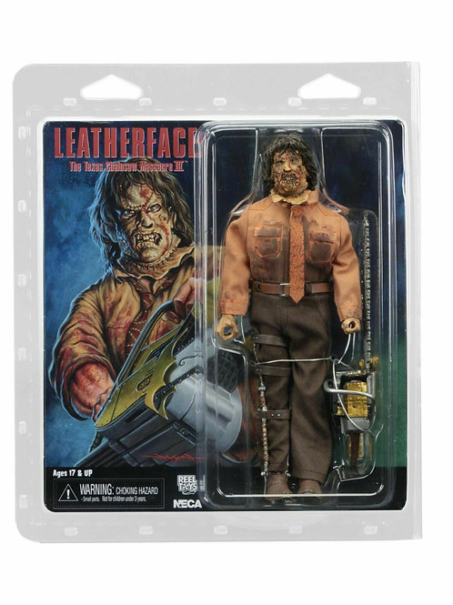 """Texas Chainsaw Massacre 3 – 8"""" Clothed Action Figure – Leatherface"""