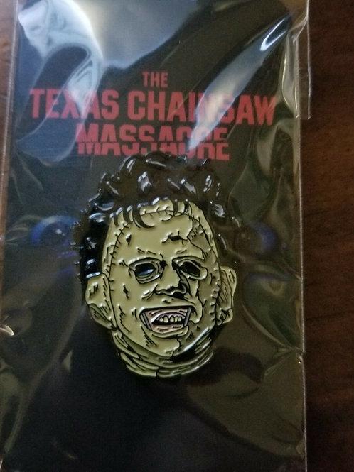 Leatherface Texas Chainsaw Massacre Enamel Pin Trick or Treat Studios