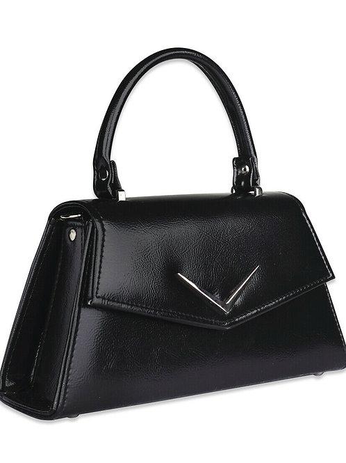 Liquor Brand Womens Chevron Black Handbag/BAGS. Tattoo, Pinup, biker clothing