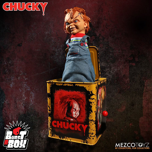 BURST-A-BOX Scarred Chucky