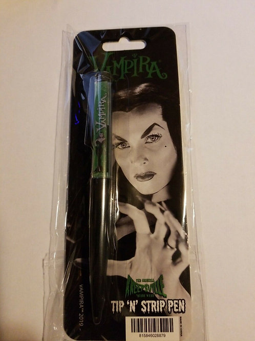 VAMPIRA STRIP FLOATY PEN horror Goth