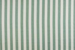 CHARLIE STRIPE Moss fabric - Mimi Pickar