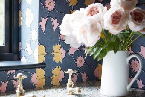 ANGELICA: Pink Ochre - wallpaper