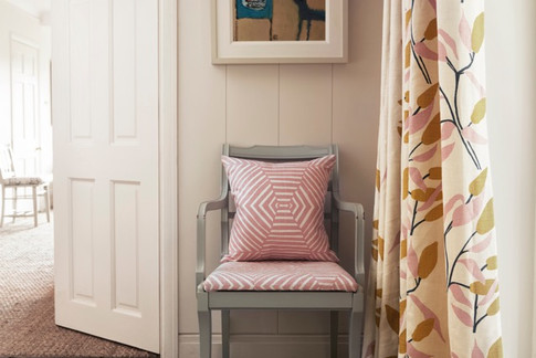 JOY: Pink Ochre - curtains