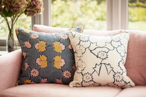 ANGELICA: Pink Ochre - cushion