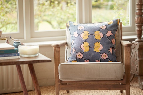 ANGELICA: Pink Ochre - cushion