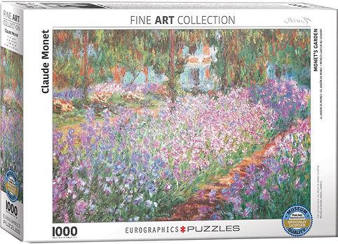 MONETS GARDEN puzzle 1000 pc.jpg