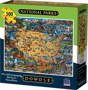 NATIONAL PARKS Puzzle 500 pc.webp
