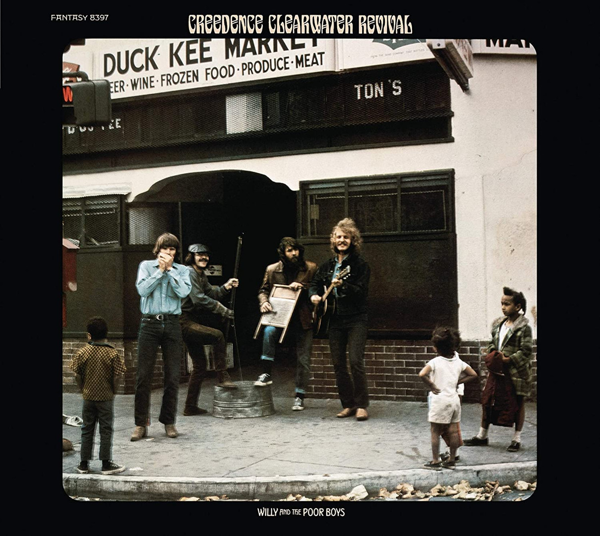 WILLIE & THE POOR BOYS Creedence Clearwater Revival