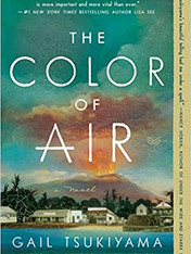 THE COLOR OF AIR by Gail Tsukiyama  $16.99 paperback 9780062976208