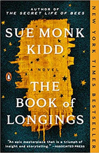 THE BOOK OF LONGINGS by Sue Monk Kidd  $17.00 paperback 9780143111399