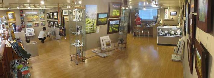 Upstairs Art Gallery in Healdsburg