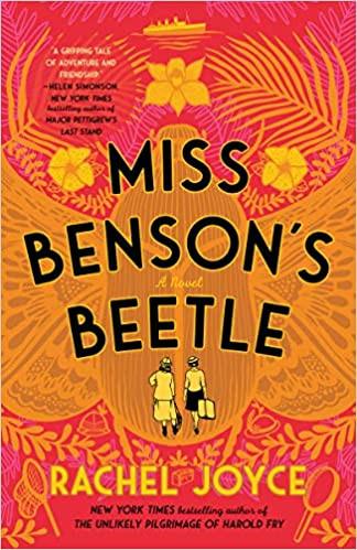 MISS BENSON'S BEETLE by Rachel Joyce  $18.00 paperback 9780812996708