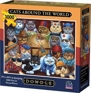 CATS AROUND THE WORLD PUZZLE 1000 pc.jpg