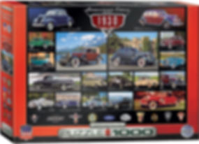 AMERICAN CARS OF THE 1930s Puzzle 1000 p