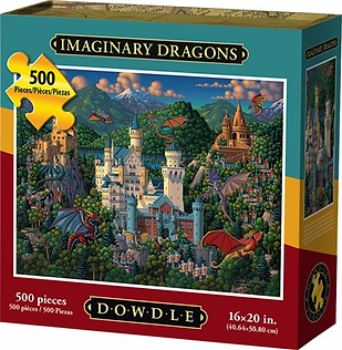 IMAGINARY DRAGONS Puzzle 500 pc.webp
