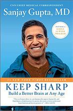 KEEP SHARP by Sanjay Gupta  $28.00 hardcover 9781501166730