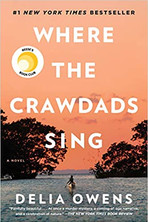 WHERE THE CRAWDADS SING  $18.00 paperback 9780735219106