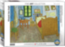 Bedroom in Arles Jigsaw Puzzle