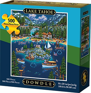 LAKE TAHOE Puzzle 500 pc.webp