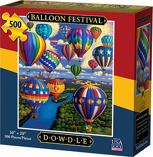 BALLOON FESTIVAL Puzzle 500 pc.webp