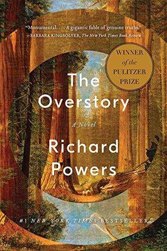 THE OVERSTORY by	 Richard	Powers	paperback	$18.95		9780393356687