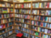 Fiction book section at Levin & Company