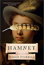 HAMNET by Maggie O Farrell  $26.95 hardcover 9780525657606
