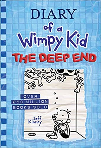 DIARY OF A WIMPY KID THE DEEP END by Jef