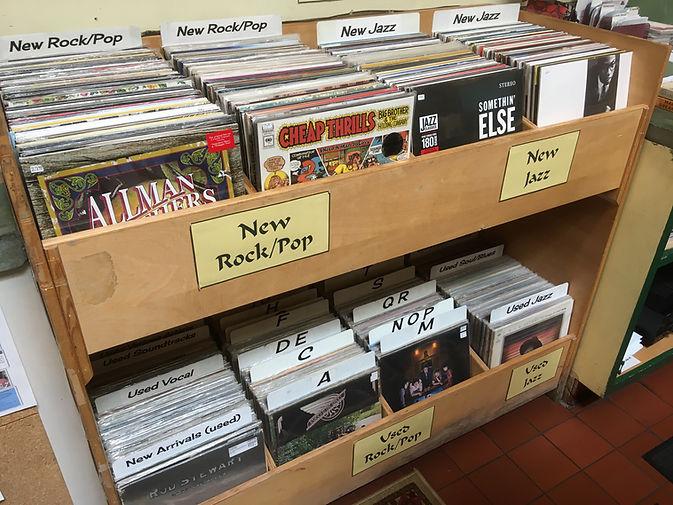 Vinyl Records at Levin & Company