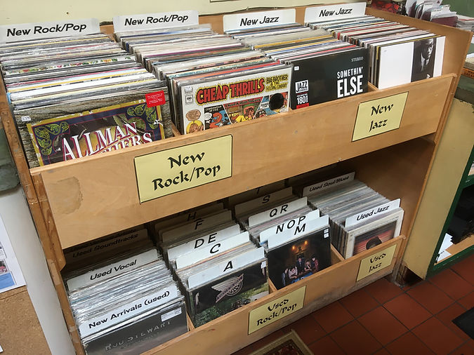 Vinyl Records at Levin & Company