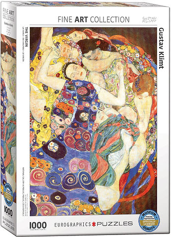THE VIRGIN BY KLIMT puzzle 1000 pc.jpg