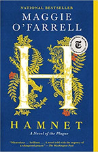 HAMNET by Maggie O'Farrell  $16.95 paperback 9781984898876