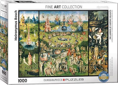 GARDEN OF EARTHLY DELIGHTS Puzzle 1000 p