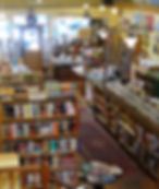 Levin & Company Independent Bookstore at open at night