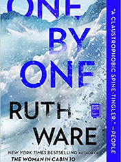 ONE BY ONE by Ruth Ware  $16.99 paperback 9781501188824