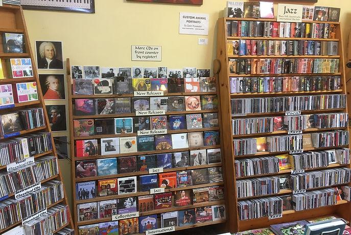 Compact Discs at Levin & Company
