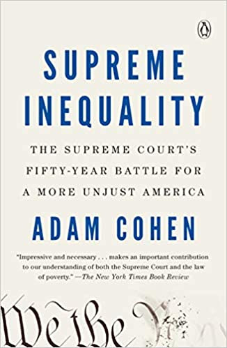SUPREME INEQUALITY by Adam Cohen  $18.00 paperback 9780735221529