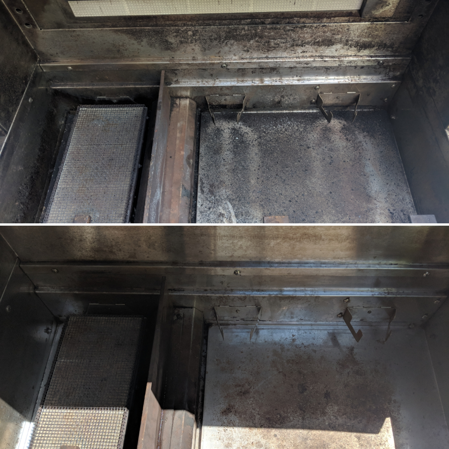 BBQ Before And After